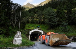 Photo: The entrance of underground mine, Felbertal (AT)