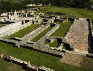 Photo: The ruins of Felix Romuliana near Gamzigrad (RS)