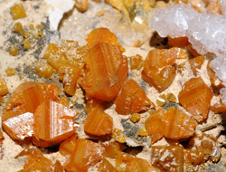 Photo: Wulfenite, Mežica (SI)